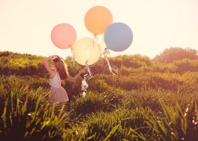 Balloon Photography Shoot