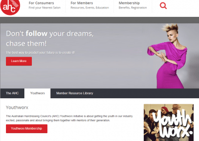 Australian Hairdressing Council Website