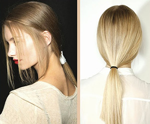 Low Pony Tail Trend