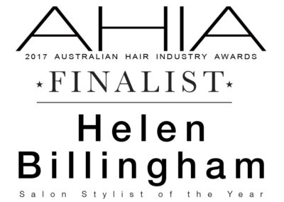 AHIA Finalist - Salon Stylist