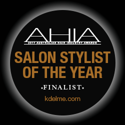 KDelme Hairdressing AHIA - Salon Stylist of the Year