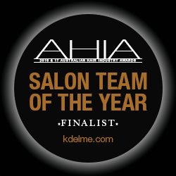 KDelme Hairdressing AHIA - Salon Team of the Year